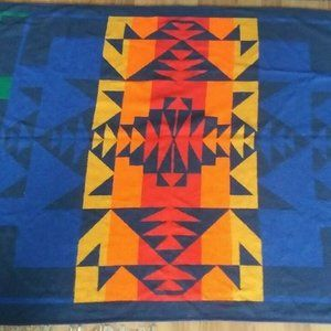Biederlack Abstract Geometric Blanket Reversible